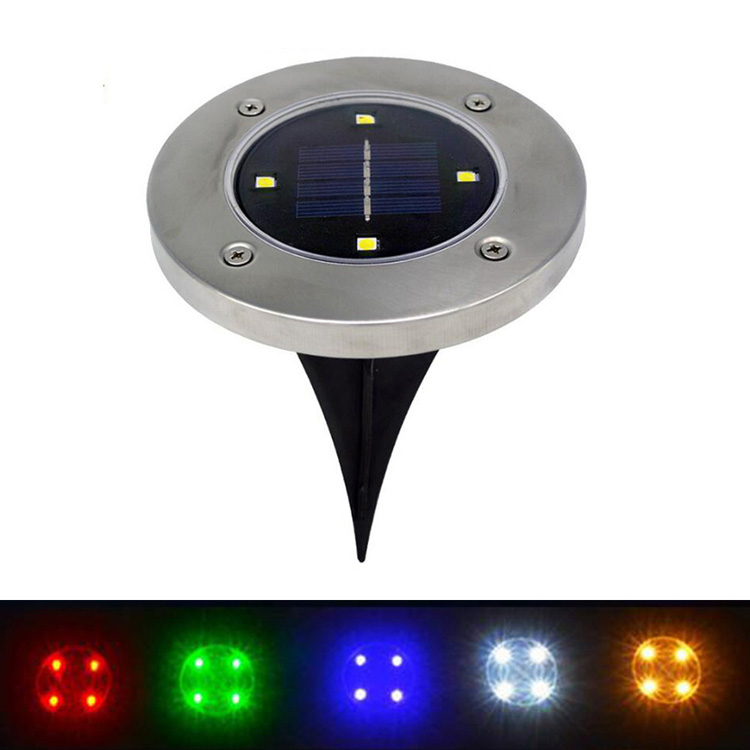 2017 New Outdoor Buried Solar led underground light for Lawn
