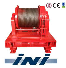 INI 100kN 10 ton two speed mooring winch