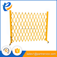 expanding retractable temporary fence Portable crowd control barrier