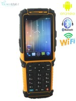 "Barcode scanner handheld industrial pda RFID reader TS-901S with 3.5"" touch screen"