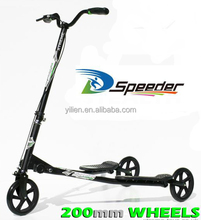 200 large wheel tri swing kick scooter