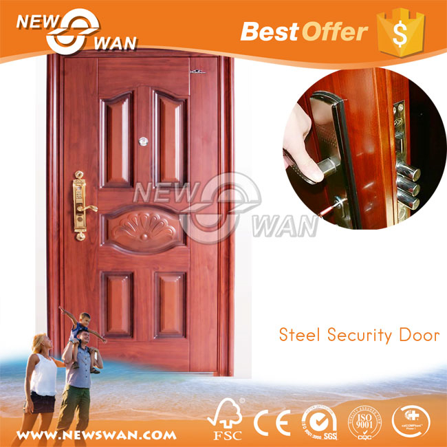 Cheap exterior apartment front entry steel door for sale for Cheap external doors for sale