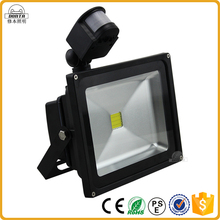 10W 20W 30W 50W 100W Outdoor Led Motion Sensor Flood Light