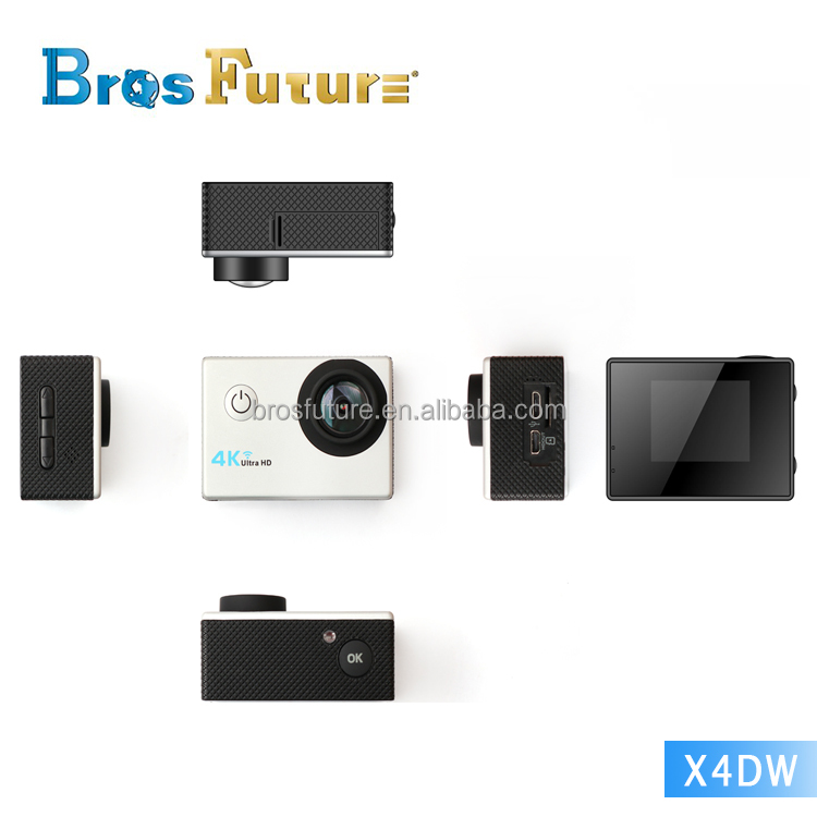 X4VW 4k action camera HD 1080p wifi mini dv video camera / xiao mi yi 4k action cam