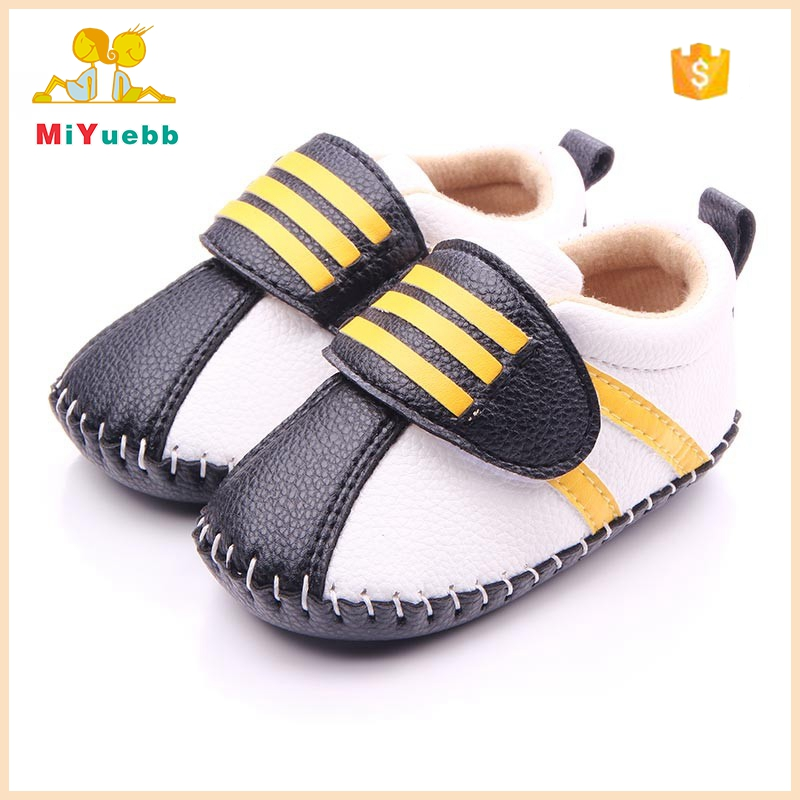 Handmade Sole Leather Newborn Baby Boy Shoes