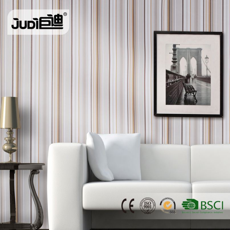 20 year manufacturer competitive price OEM natural light color wallpaper