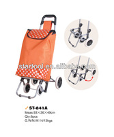 Four wheels trolley bag luggage cart for shopping outdoor use