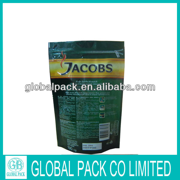 Plastic packing for powder,food bag packaging design