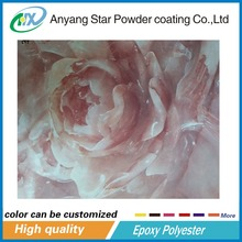 Thermal transfer 3d Wood Grain Marbling Powder Paint