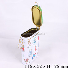 factory direct wholesale 3D embossing 4C printing sealing tin box package tea coffee gift tin can