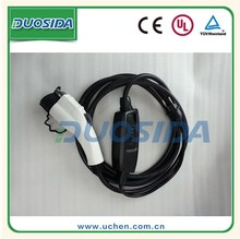 EV charging cable mode 2 portable ce&tuv 32a level 2 charger j1772