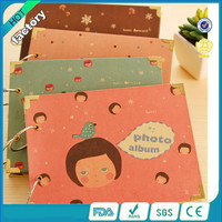 wholesale cute black paper mini photo album