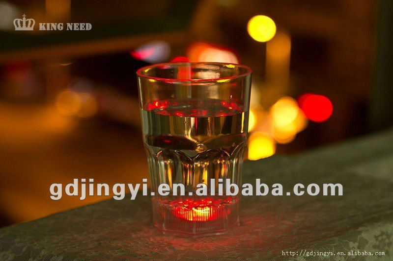 LED plastic beer cup whisky cup beer steins