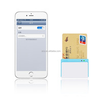 FACTORY ZCS bi-directional magnetic swipe Smart IC emv card reader SDK mobile card reader for POS systems