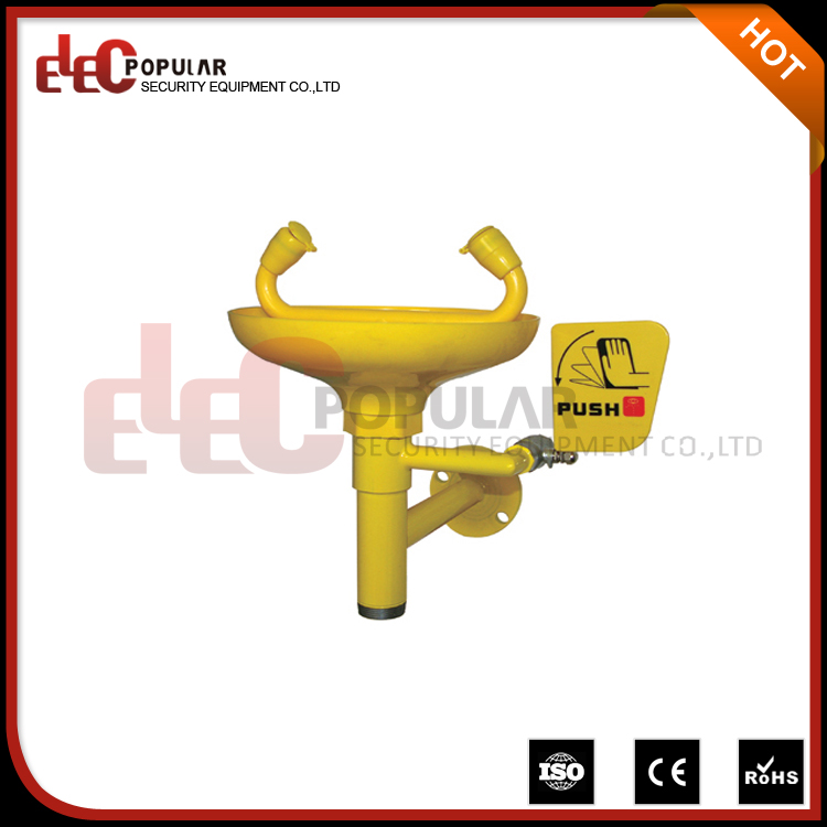 Elecpopular Wall Mounted Industrial Safety Equipment Faucet Eyewash Stations