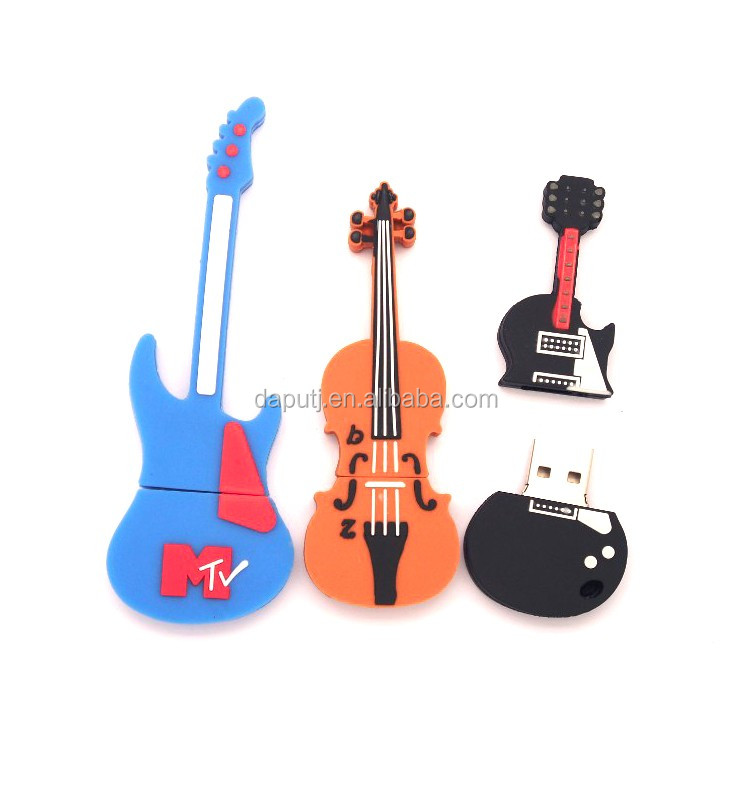 Customized usb flash drive USB pen drive guitar shape hot sell usb pen drive bulk cheap usb memory