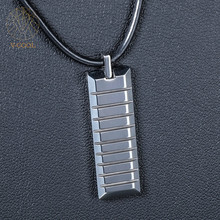 Fashion Manly Necklace Pendant Tungsten Steel Never Fade Pendants and Charms 2017 Trending Product Brand V-COOL VP071