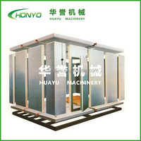 color steel pu panels beef flash freezing room