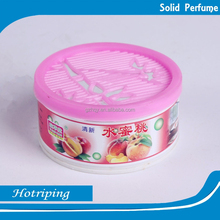 China promote printing gel air freshener factory logo oem brand scent freshener can