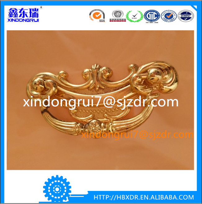 High quality fancy zamak or aluminium alloy furniture cabinethandles &knobs ,office furniture pull handles
