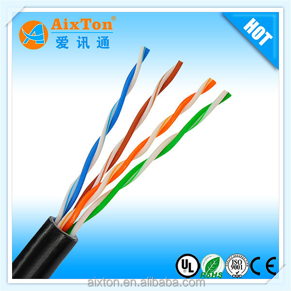 cat6 cat6a cat5 cat5a network cable 1000ft reel wholesale