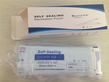 Medical Grade Self Sealing Pouches bags with Steam and ETO Sterilization