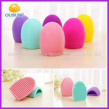 LOW MOQ!!! Makeup Cosmetc Brush Cleanser silicone finger glove Brush cleaner