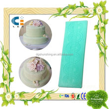cooking silicone fondant mould for cake decorating tools