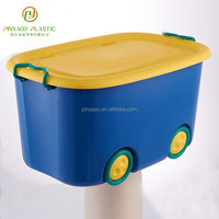 Household waterproof multi-function toy boxes for kids