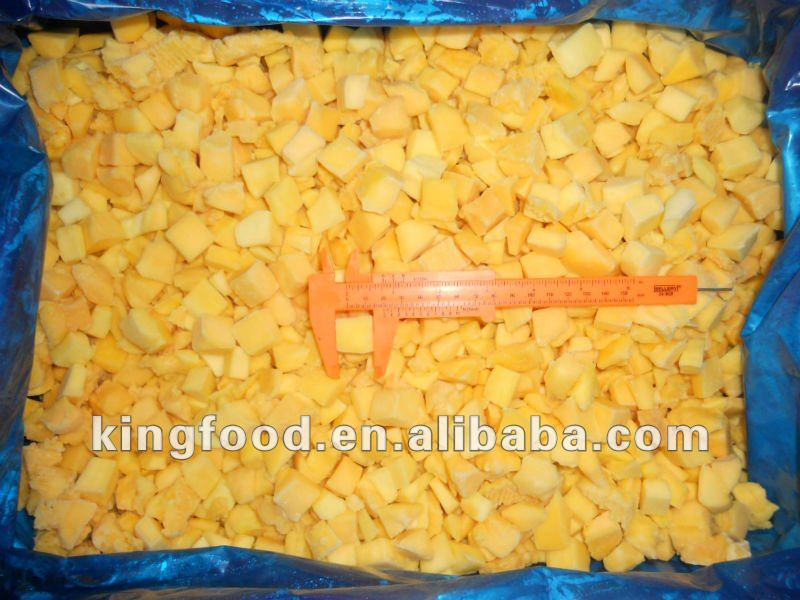 Hot selling fresh frozen mango dice