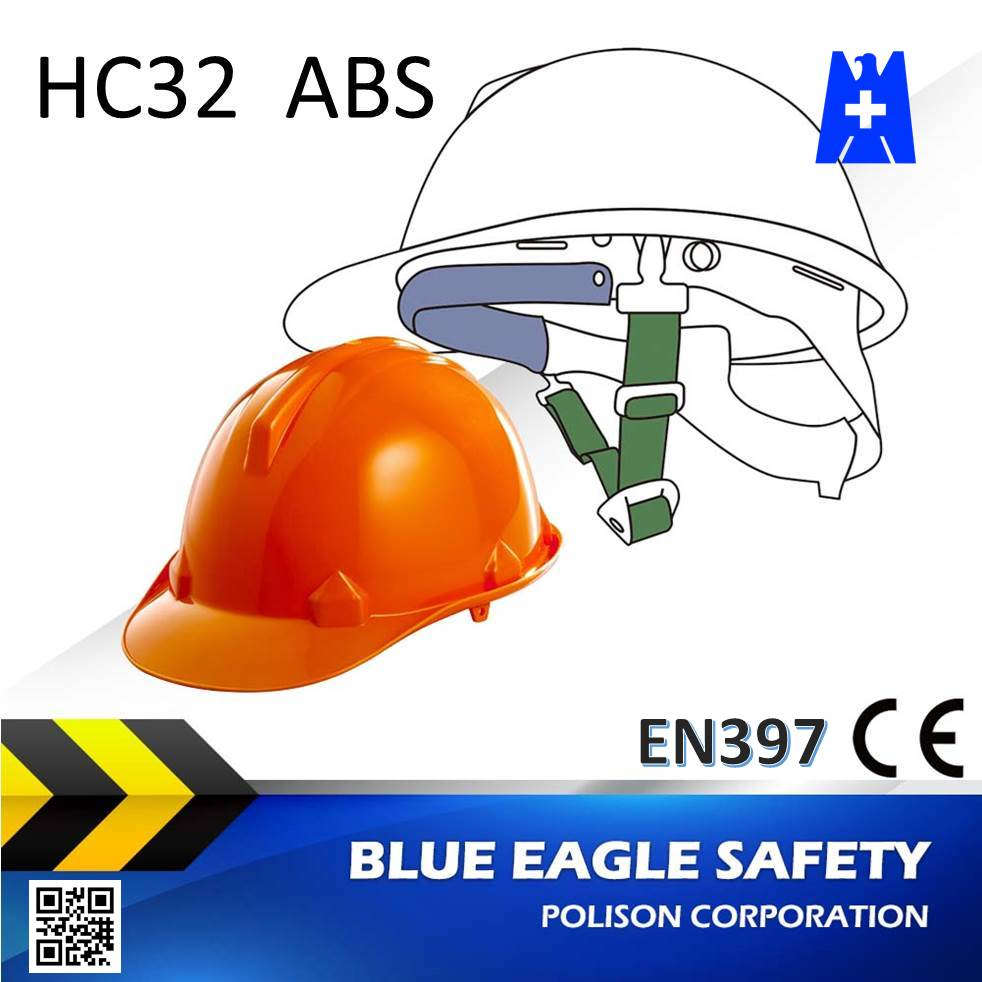 Blue Eagle HC32 abs best orange safety helmet