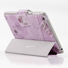 stand leather bags women case for mini ipad smart cover