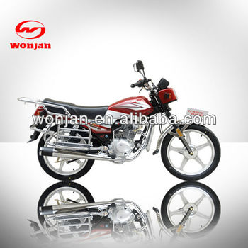 New motorcycle 125cc gas powered motorcycles for sale cheap(WJ125-6)