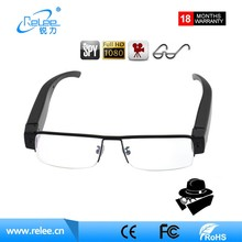 2017 New style FHD1080P hidden glasses camera 30fps pinhole sunglasses camera