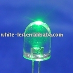 Very Bright White 5mm LED/Ultra bright green LEDs