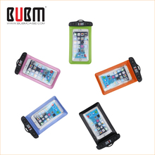 BUBM high quality PVC Mobie phone waterproof bag