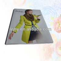 Advertising cheap brochure printing glossy paper catalog printing
