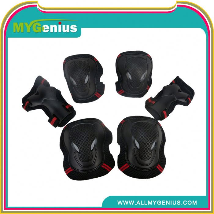 long knee and elbow pads ,H0T046 knee elbow pads , extreme sports protective gear