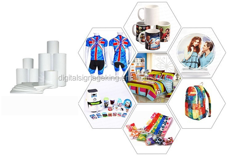 Get Well Best-selling heat transfer paper textile printing roll size