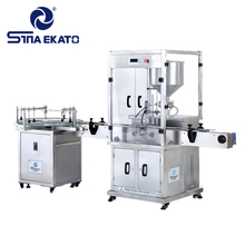 Sina Ekato Guangzhou pneumatic heating and mixing paste filling machine for ointment