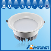 led flux downlight with easy mounted 25w 7inch IP40 CE ROHS ETL TUV SAA approved round illumination downlights SMD shape