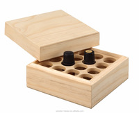 Herb tea tree essential oil case