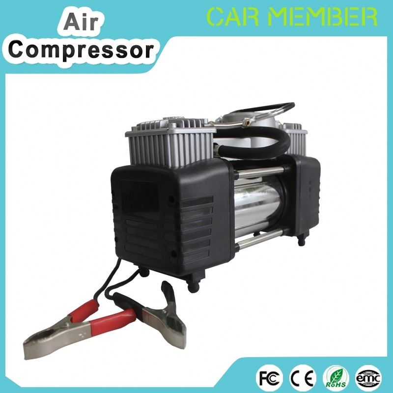 Hand-free car air compressor pump electric air pump with ce bicycle pump air hose
