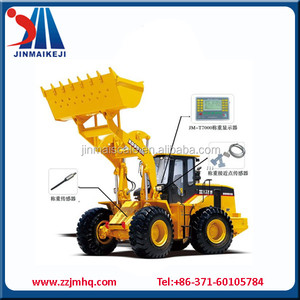 4 wheel drive tractor weighing system / wheel loader weighing scales price