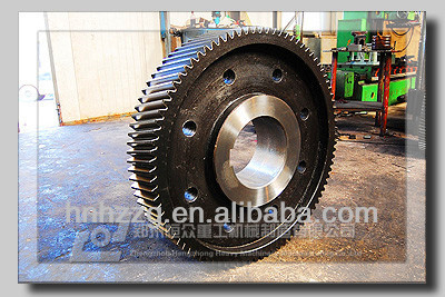 Heavy Forging Helical Big Gear Ring for Transimission