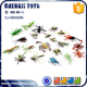 Novelty halloween animals promotion small plastic insect toys