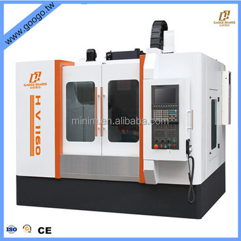 China big 4 axis cnc milling machine price with fanuc or siemens controller