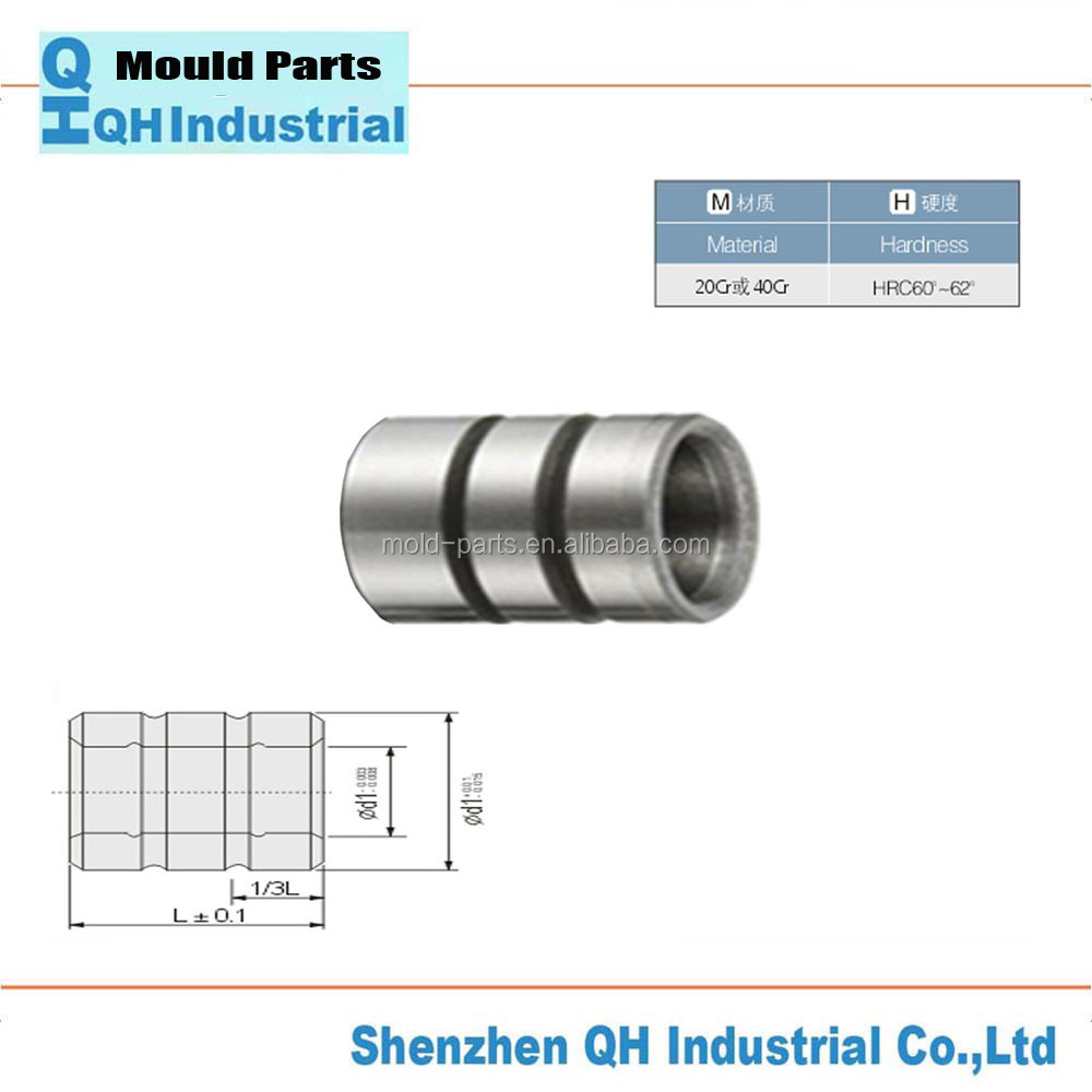 Head bush,Headed Guide Bushes DIN1675 by SUJ2 oilless for Die Casting Mold - MISUMI Standard