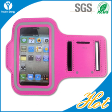 Fashionable smartphone arm case neoprene sports armband for blackberry