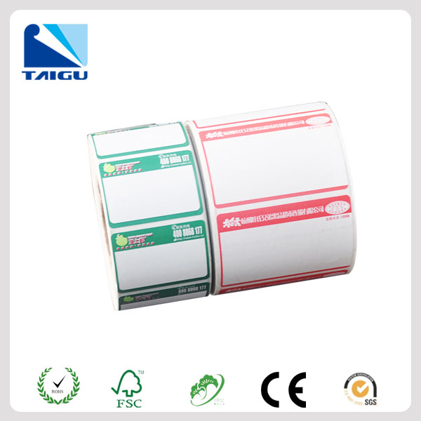 adhesive digital scale thermal label roll maker